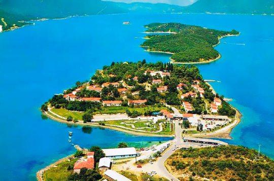 достопримечательности тивата (черногория) остров цветов