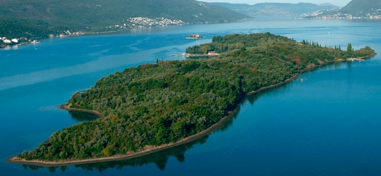 природа черногории на острове святого марка