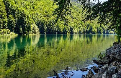 Черногория на автомобиле что посмотреть - Биоградское озеро