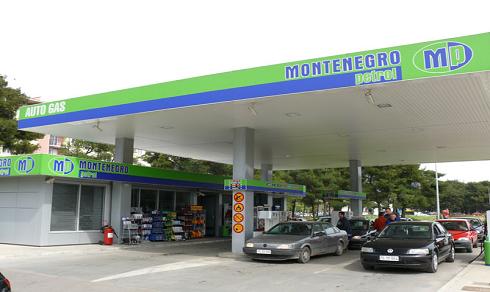 заправки в Черногории - Montenegro Petrol