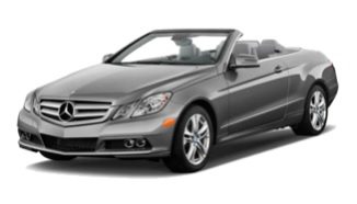 luxury cabriolet Mercedes E350 CDI AMG for hire in Tivat